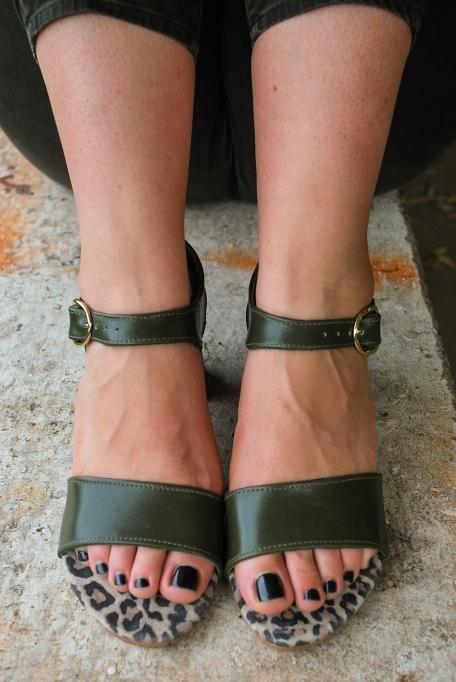 Sandalen vooraanzicht