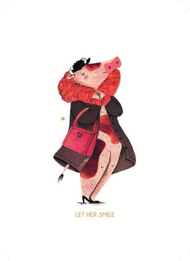'Let her smile'