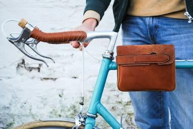 Heuptas fiets vooraanzicht